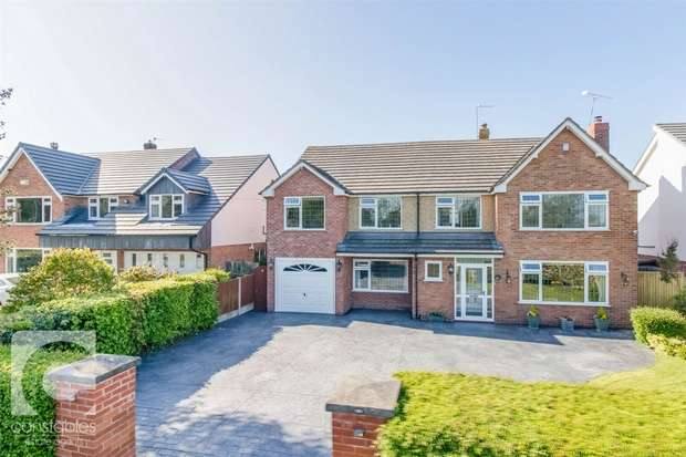 5 Bedrooms Detached House for sale in Neston Road, Thornton Hough, Wirral, Merseyside