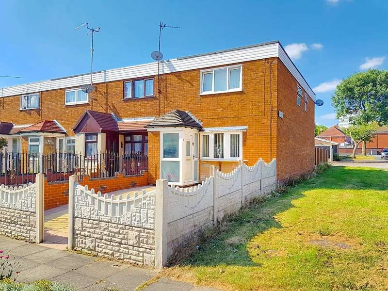 2 Bedrooms End Of Terrace House for sale in ARTHUR STREET, WEST BROMWICH, WEST MIDLANDS, B70 6NR