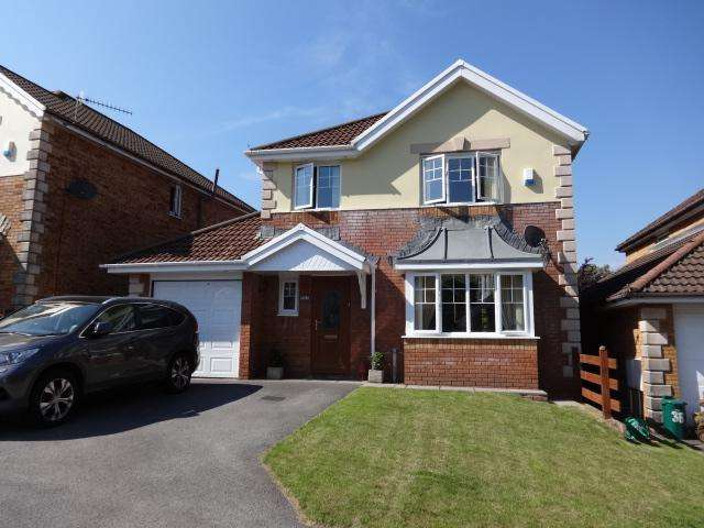 4 Bedrooms Detached House for sale in Swyn Y Nant, Tonyrefail, Porth