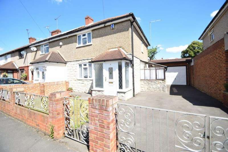 3 Bedrooms End Of Terrace House for sale in St Elmo Crescent, Slough, SL2