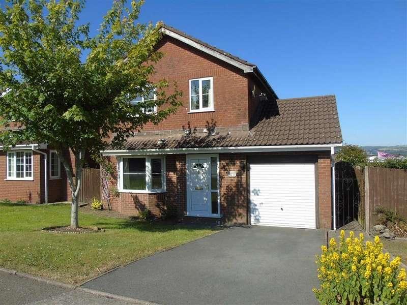 4 Bedrooms Detached House for sale in Heol Morlais, Llangennech, Llanelli