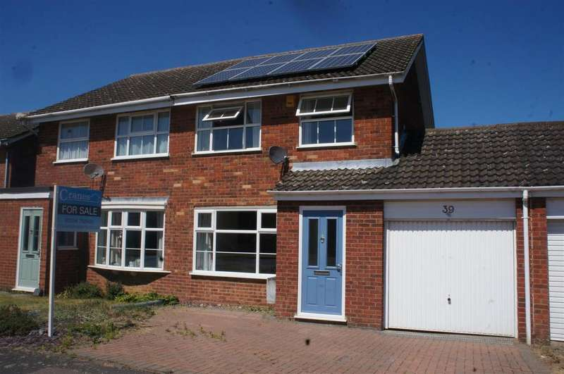 3 Bedrooms Semi Detached House for sale in Partridge Piece, Cranfield, Bedford