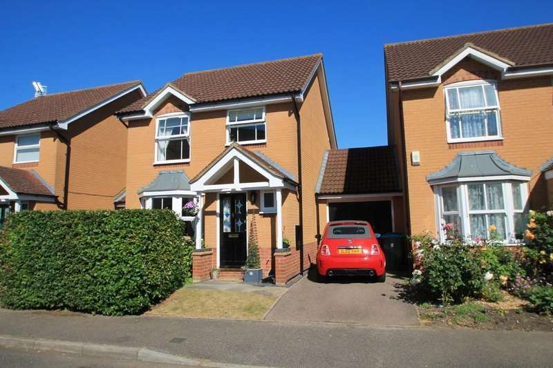 3 Bedrooms Link Detached House for sale in Guillemot Way, Watermead