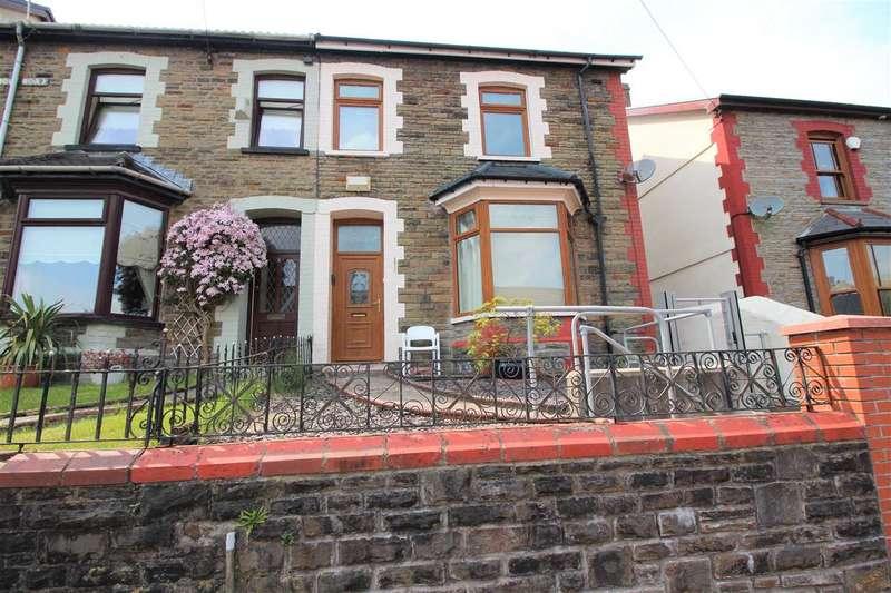 4 Bedrooms Semi Detached House for sale in Aldergrove Road, Porth