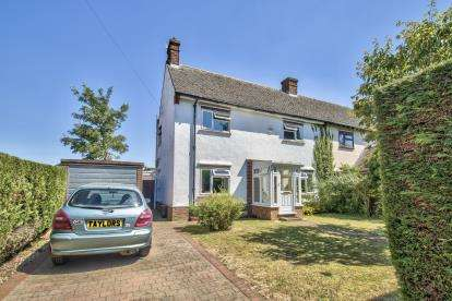 3 Bedrooms Semi Detached House for sale in Bernard Road, Brampton, Huntingdon, Cambs