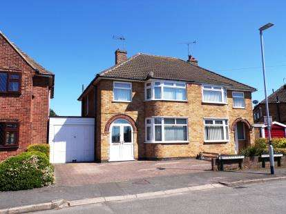 3 Bedrooms Semi Detached House for sale in Horndean Avenue, Wigston, Leicestershire