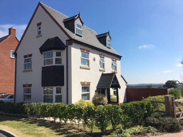 5 Bedrooms Detached House for sale in Gerards Way, Birmingham