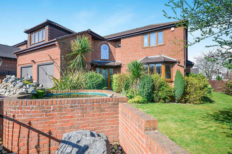 5 Bedrooms Detached House for sale in Monument Lane, Codnor Park,Ironville, Nottingham, NG16