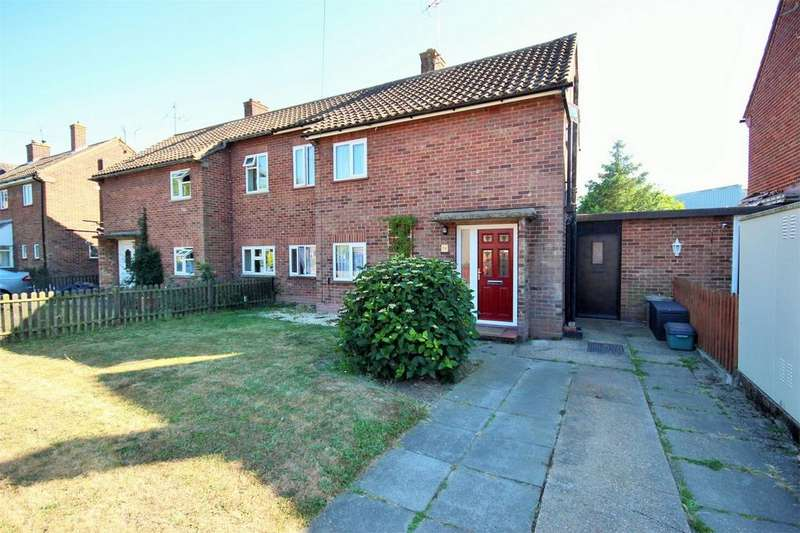2 Bedrooms Semi Detached House for sale in Hazell Avenue, COLCHESTER, Essex