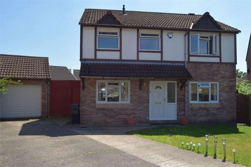4 Bedrooms Detached House for sale in Shire Court, Quakers Yard, Treharris, Mid Glamorgan