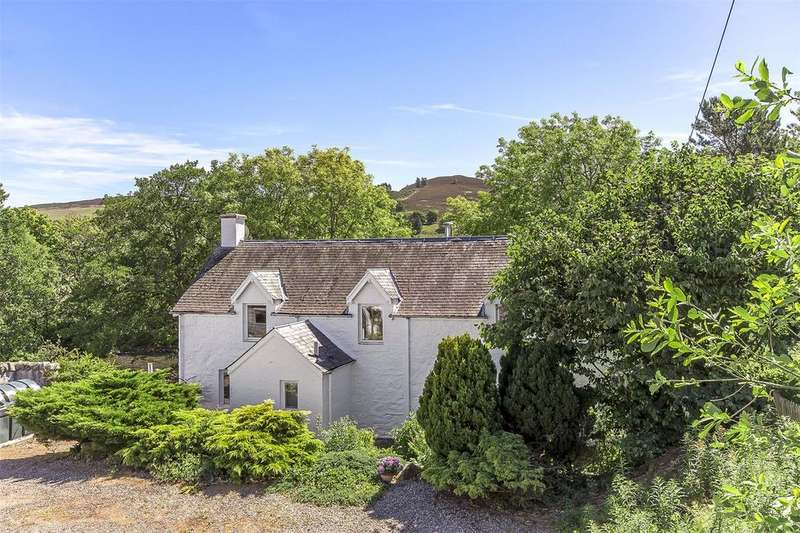 4 Bedrooms Detached House for sale in Dalrulzion Coach House, and Holiday Cottage Let, Bridge Of Cally, Blairgowrie, PH10