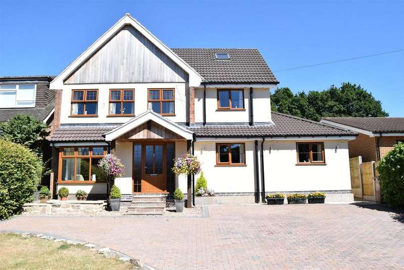 5 Bedrooms Detached House for sale in Black Scotch Lane, Mansfield
