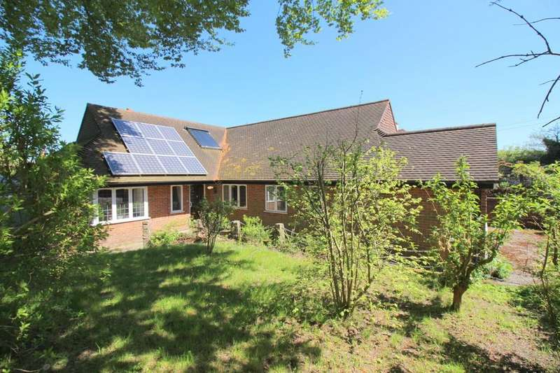 4 Bedrooms Detached Bungalow for sale in Sun Lane, Alresford