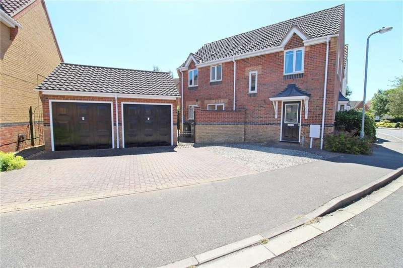 4 Bedrooms Detached House for sale in Cowslip Drive, Deeping St. James, Peterborough, PE6