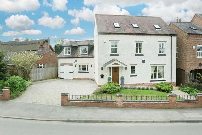 4 Bedrooms Detached House for sale in Main Street, Leire, Lutterworth