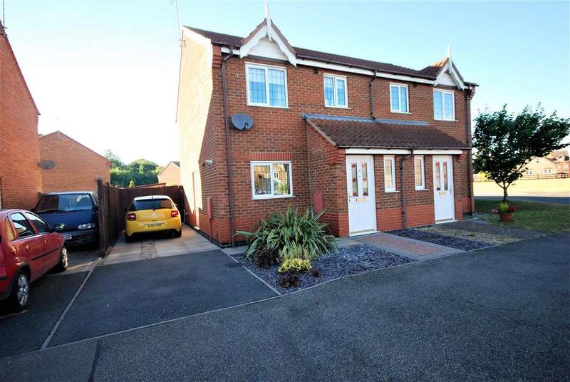 3 Bedrooms Semi Detached House for sale in Franklin Drive, Spalding