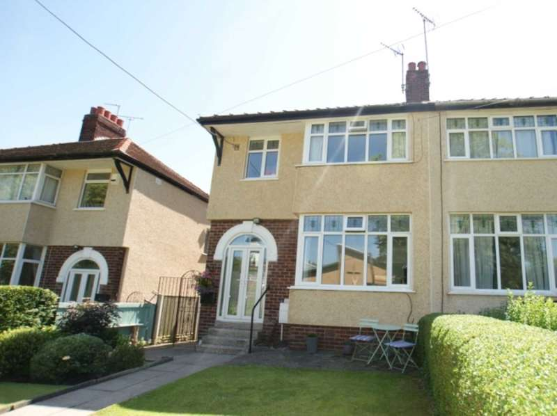 3 Bedrooms Semi Detached House for sale in St Peters Estate, Holywell, Flintshire, CH8 7UW.