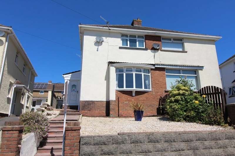 3 Bedrooms Semi Detached House for sale in Highfield Crescent, Pontllanfraith