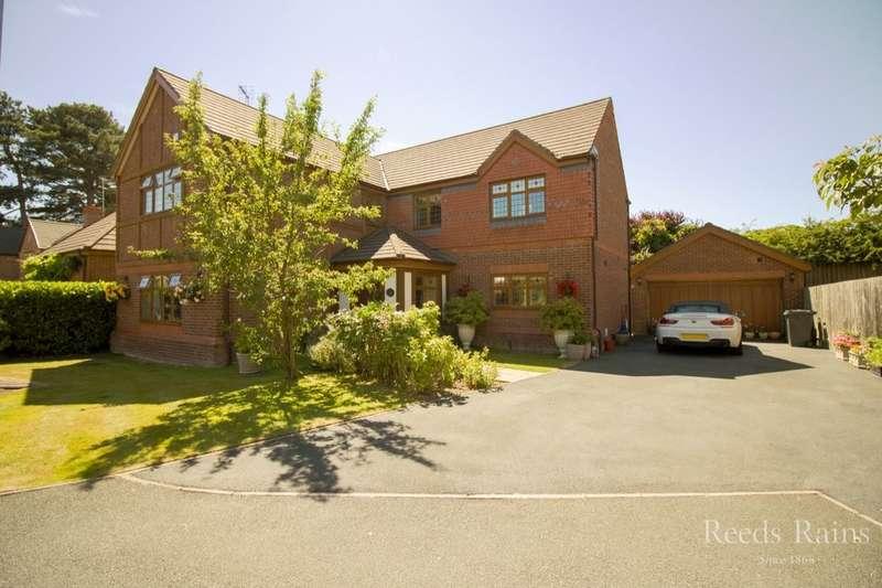 5 Bedrooms Detached House for sale in Barnwood, Little Sutton, Ellesmere Port, CH66