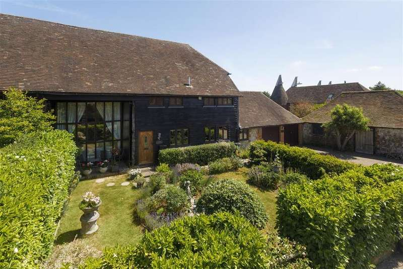 4 Bedrooms End Of Terrace House for sale in The Barn, Finn Farm Court, Kingsnorth