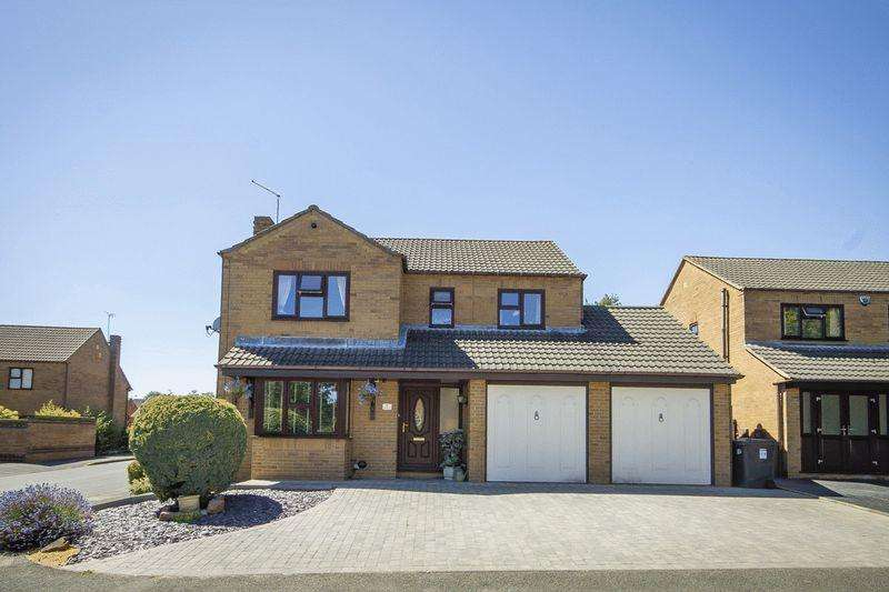 4 Bedrooms Detached House for sale in OVAL COURT, LITTLEOVER