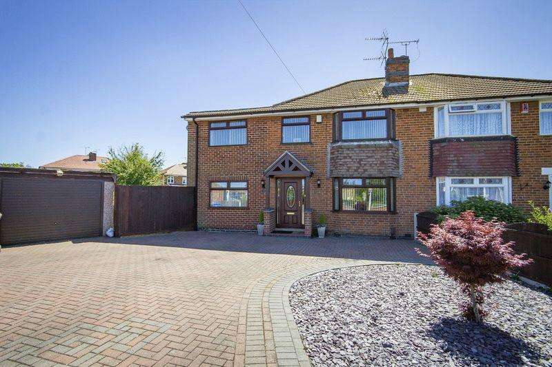4 Bedrooms Semi Detached House for sale in HOLTLANDS DRIVE, ALVASTON