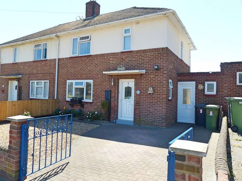 2 Bedrooms Semi Detached House for sale in Broad Close, Peterborough, Cambridgeshire. PE1 5LU
