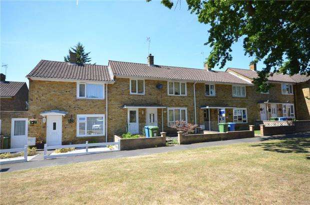 3 Bedrooms Terraced House for sale in Haversham Drive, Bracknell, Berkshire