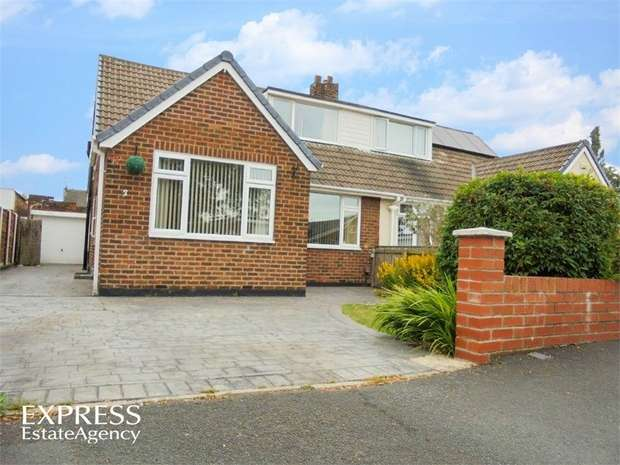 3 Bedrooms Semi Detached Bungalow for sale in Park Drive, Stockton-on-Tees, Durham
