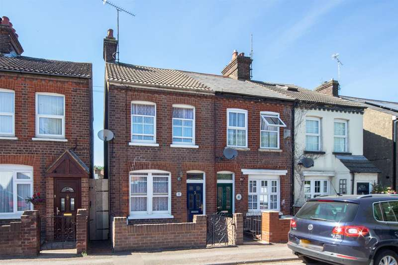 2 Bedrooms End Of Terrace House for sale in Englands Lane, Dunstable