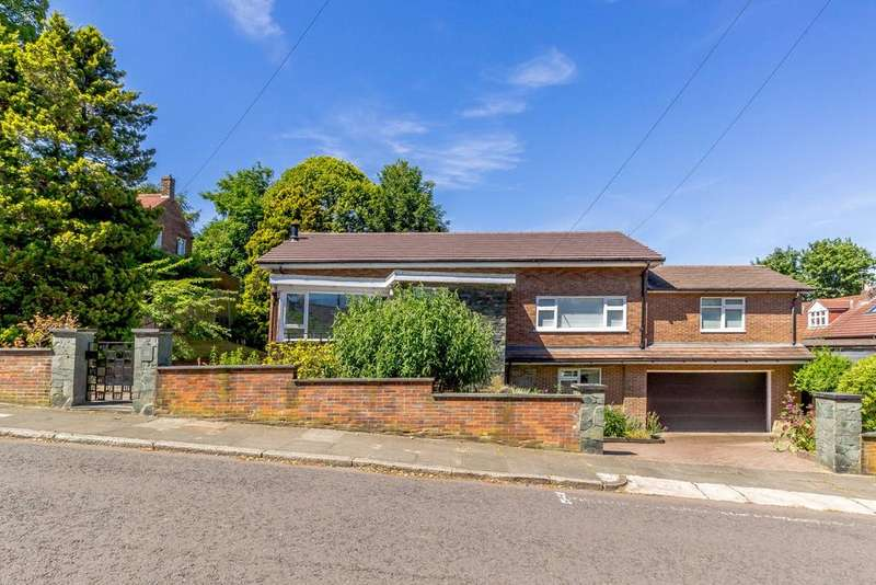 5 Bedrooms Detached House for sale in Castleton Grove, Jesmond, Newcastle Upon Tyne, Tyne Wear