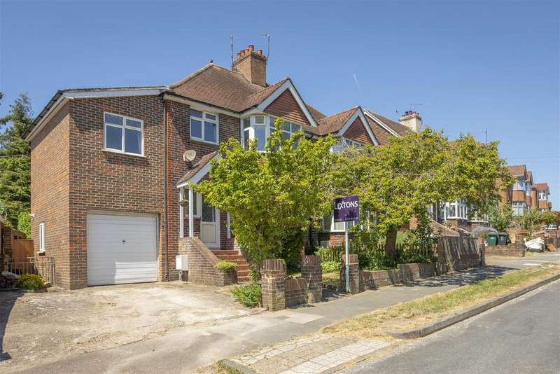 4 Bedrooms Semi Detached House for sale in Rushlake Road, Brighton
