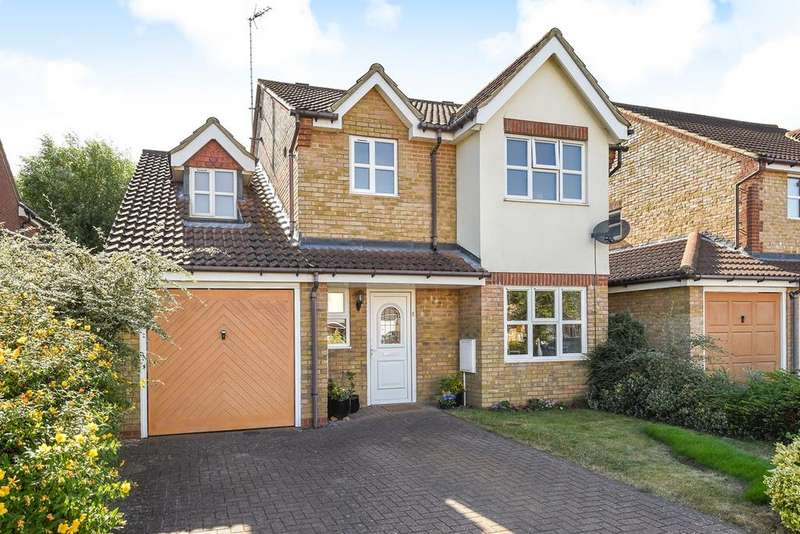 4 Bedrooms Detached House for sale in Naseby Place, Flitwick, Bedford, MK45