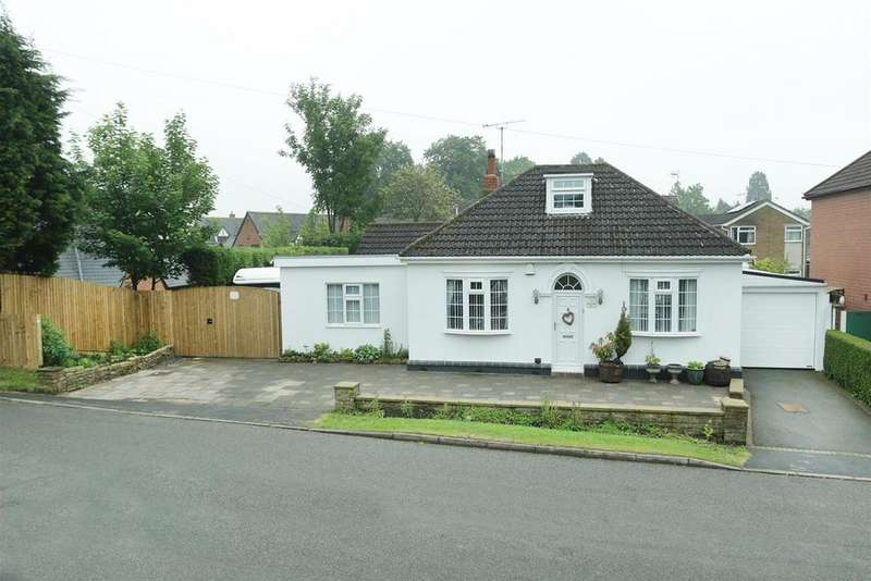 3 Bedrooms Detached Bungalow for sale in Oaks Road, Great Glen, Leicester
