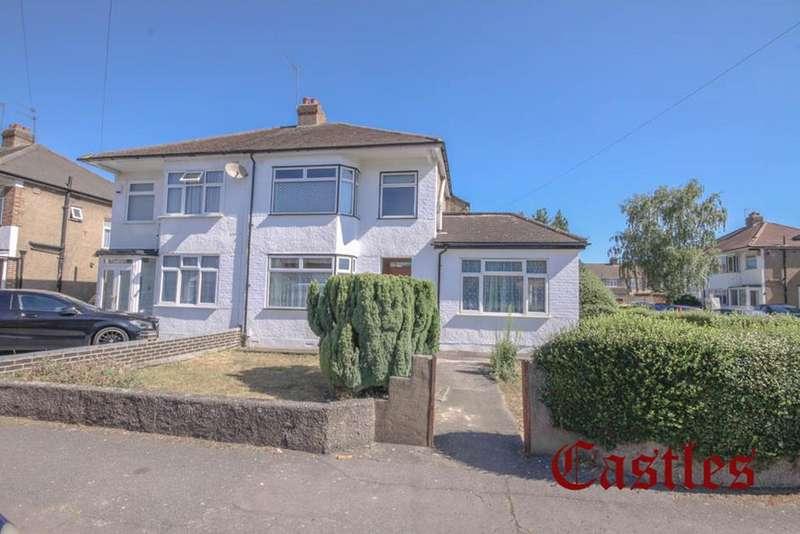 3 Bedrooms Semi Detached House for sale in Colvin Gardens, Waltham Cross, London, EN8