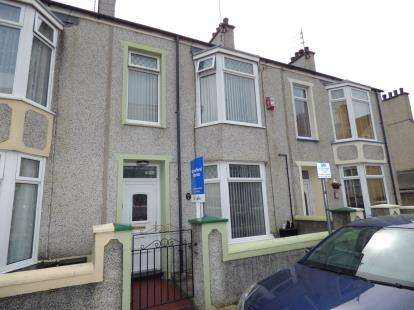 3 Bedrooms Terraced House for sale in Keffi Street, Holyhead, Anglesey, LL65