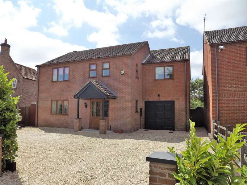 4 Bedrooms Detached House for sale in High Street, Martin, Lincoln, LN4 3QY