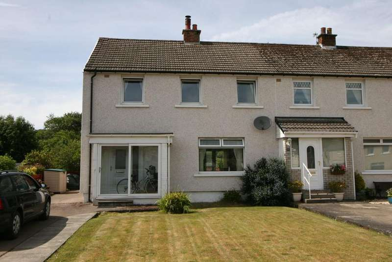 3 Bedrooms End Of Terrace House for sale in 7 Copeland Crescent, Millport, ISLE OF CUMBRAE, KA28 0BP