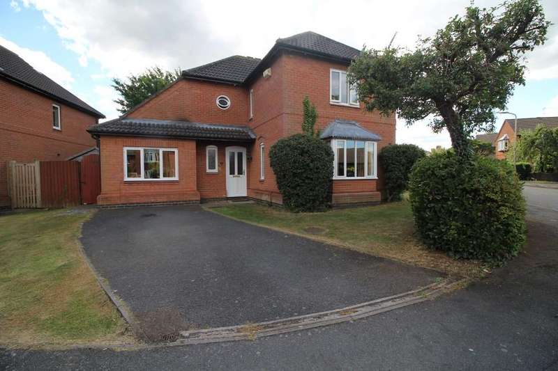3 Bedrooms Detached House for sale in Hornecroft, Rothley