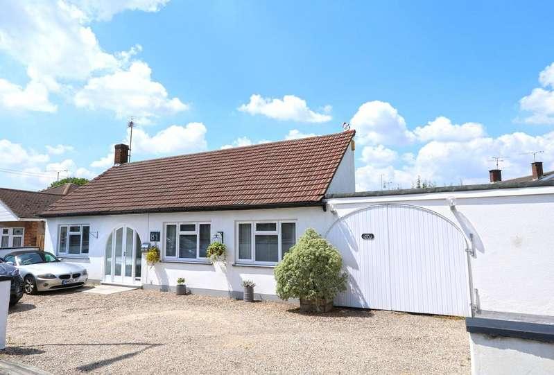 3 Bedrooms Detached Bungalow for sale in Church Road, Benfleet SS7