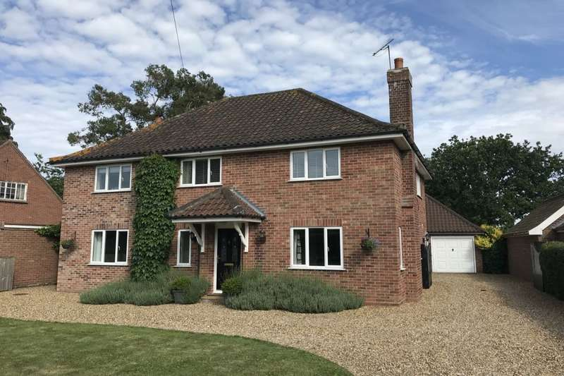4 Bedrooms Detached House for sale in High Green, Brooke, Norwich, NR15