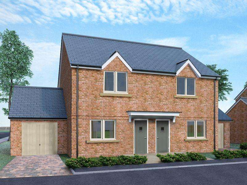 2 Bedrooms Semi Detached House for sale in Oakley Meadows, Oakley
