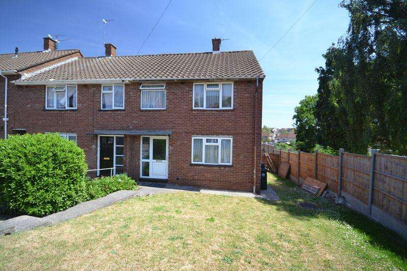 3 Bedrooms End Of Terrace House for sale in Colebrook Road, Kingswood, Bristol
