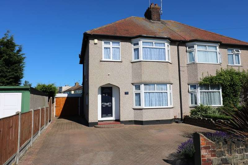 3 Bedrooms Semi Detached House for sale in Hampton Gardens, Southend-On-Sea