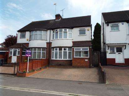 3 Bedrooms Semi Detached House for sale in Wardown Crescent, Luton, Bedfordshire