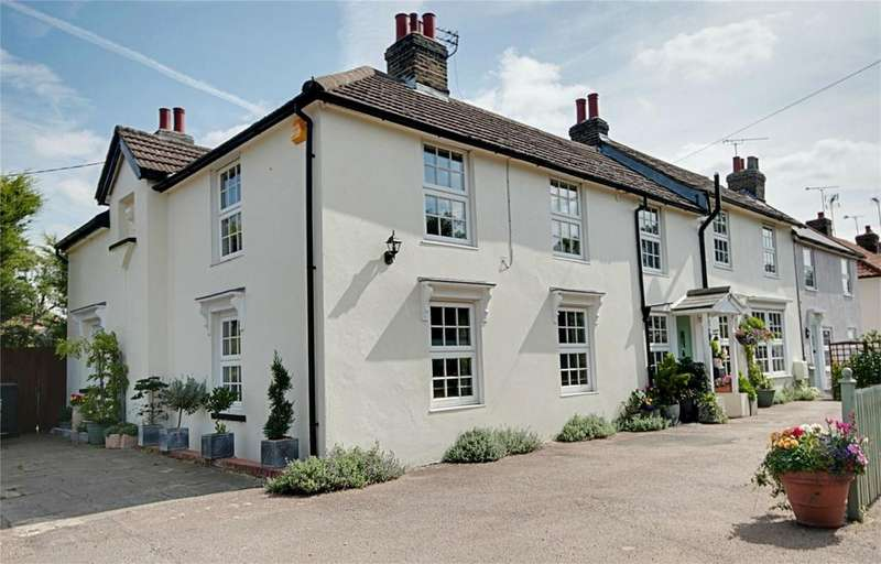 5 Bedrooms Semi Detached House for sale in The Street, Sheering, Bishop's Stortford, Herts