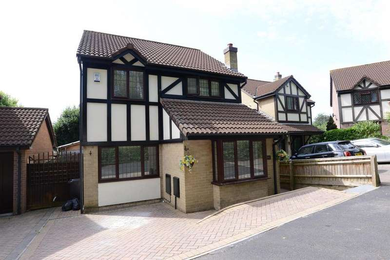 4 Bedrooms Detached House for sale in Palmers Close, Barrs Court, Bristol, BS30 7SD
