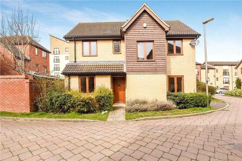 4 Bedrooms Link Detached House for sale in Goodrington Place, Broughton, Milton Keynes