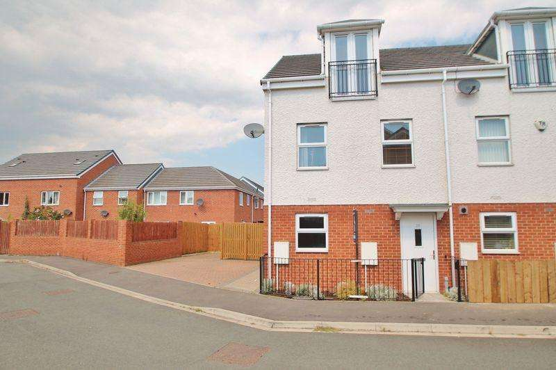 3 Bedrooms Terraced House for sale in Conyers Way, North Ormesby