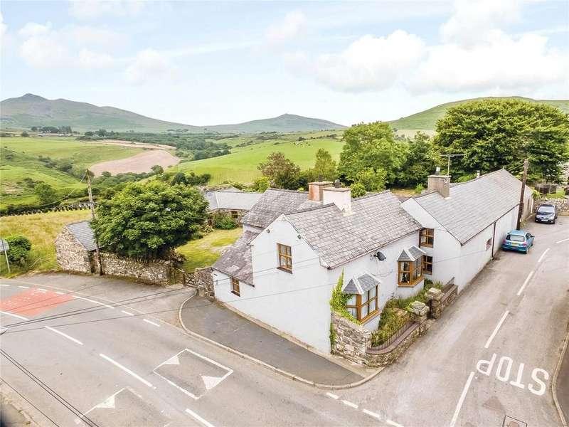 5 Bedrooms Semi Detached House for sale in Llanaelhaearn, Caernarfon, Gwynedd, LL54